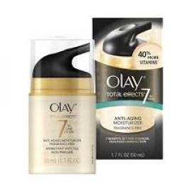 Olay Total Effects 7-in-1 Anti Aging Fragrance Free SPF-15