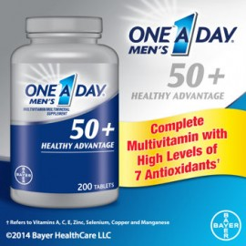 One A Day® 50+ Multivitamins