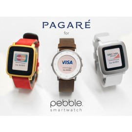Pagare - Contactless Payment Smartstraps for Pebble Smartwatches
