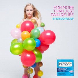 Pamprin Menstrual Pain Relief