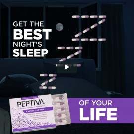 Peptiva Probiotics Sleep Support