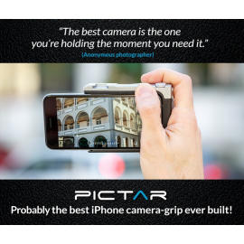 PICTAR - iPhone camera grip