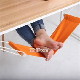 Portable Mini Foot Rest Stand Desk Hammock