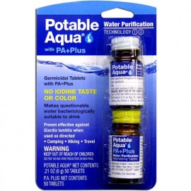 Potable Aqua Purification Tablets