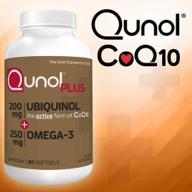 Qunol Plus Ubiquinol CoQ10