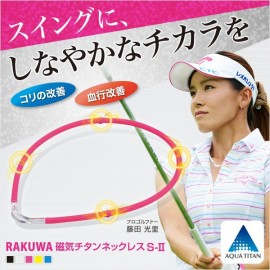 RAKUWA Magnetic Titanium Necklace