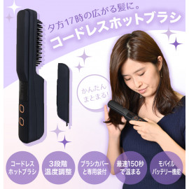 Rechargeable Cordless Iron Brush