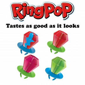Ring Pop Individually Wrapped Bulk Lollipop