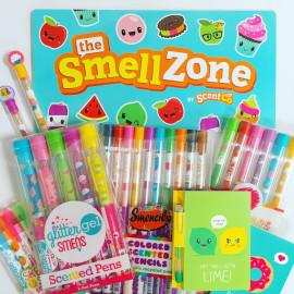 Scentco Glitter Gel Smens Scented Pens