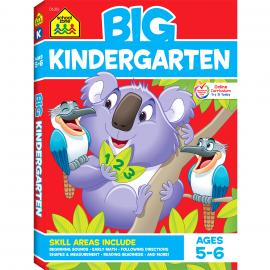 School Zone - Big Kindergarten Workbook