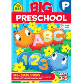 School Zone - Big Preschool Workbook