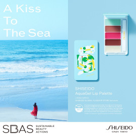 SHISEIDO Aqua Gel Lip Palette