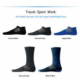 SilverAir Sock 2.0 - Odorless Socks