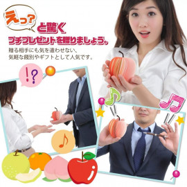 SilverCoral Fruit memo pad healing stationery
