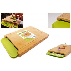 SimPrium Bamboo Cutting Board