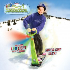 Ski Skooter - Fold-up Snowboard Kick-Scooter