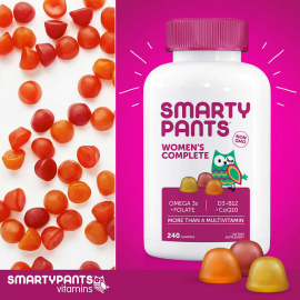 SmartyPants Women Complete Multivitamin