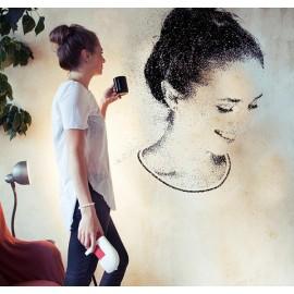 SprayPrinter - designing walls