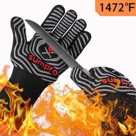 SUMPRO Hot BBQ Gloves