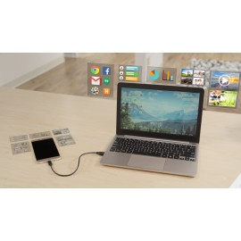 Superbook - Turn smartphone into laptop