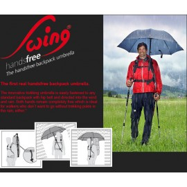 Swing Handsfree Backpack Umbrella
