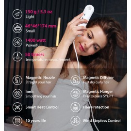 SYLPH - portable hair dryer