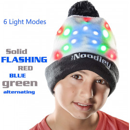 The Noodley LED Light Up Hat Beanie