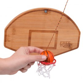Tiki Toss Free Toss Basketball Game