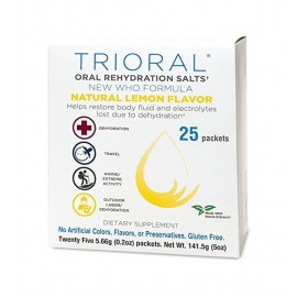 TRIORAL Oral Rehydration Salts Natural Lemon