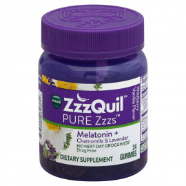 Vicks Pure Zzzs Melatonin Sleep Aid Gummies