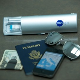 Violife travel safe uv toothbrush sanitizer