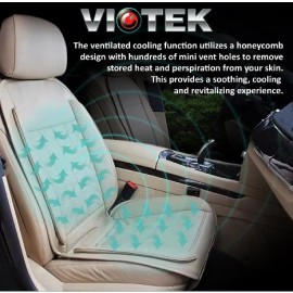 VIOTEK TRU - HEATING AND COOLING CAR SEAT CUSHION