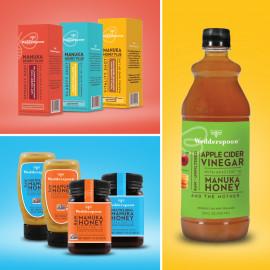 Wedderspoon Apple Cider Vinegar With Manuka Honey