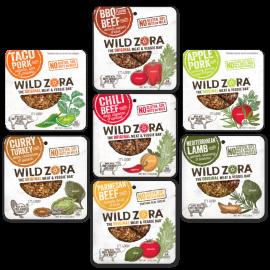 Wild Zora Beef N Veggie Bars