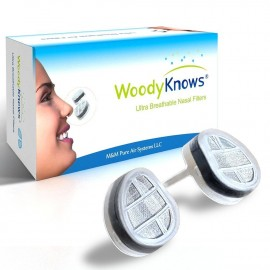 WoodyKnows Nose Nasal Filters
