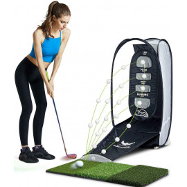 wosofe Golf Chipping Hitting Trainer Net