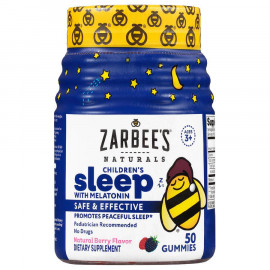 Zarbee's Naturals Sleep with Melatonin Gummies
