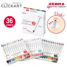 ZEBRA Clickart moist keep ink pen