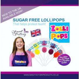 Zollipops Clean Teeth Lollipops