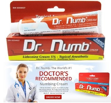 Dr  Numb - Tattoo Removal Numbing Cream - SKIN CARE - MAKE