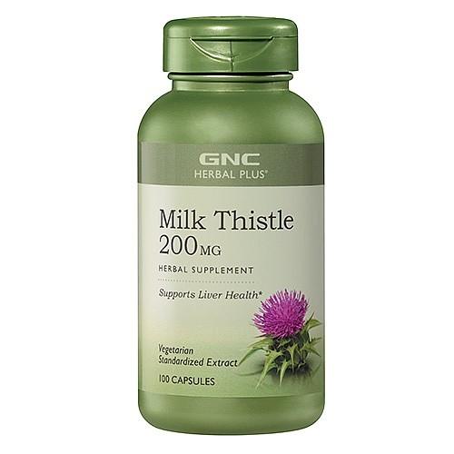 Gnc Herbal Plus 174 Milk Thistle