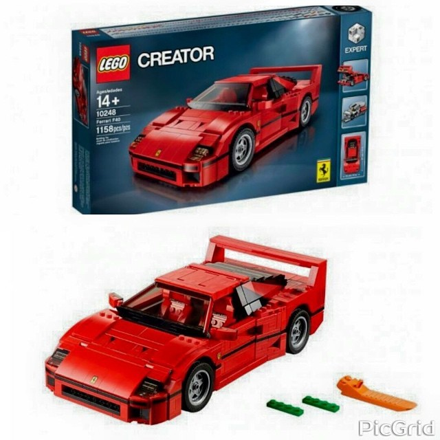 lego creator ferrari f40. Black Bedroom Furniture Sets. Home Design Ideas