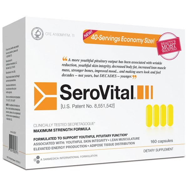 SEROVITAL-HGH - Anti aging supplement