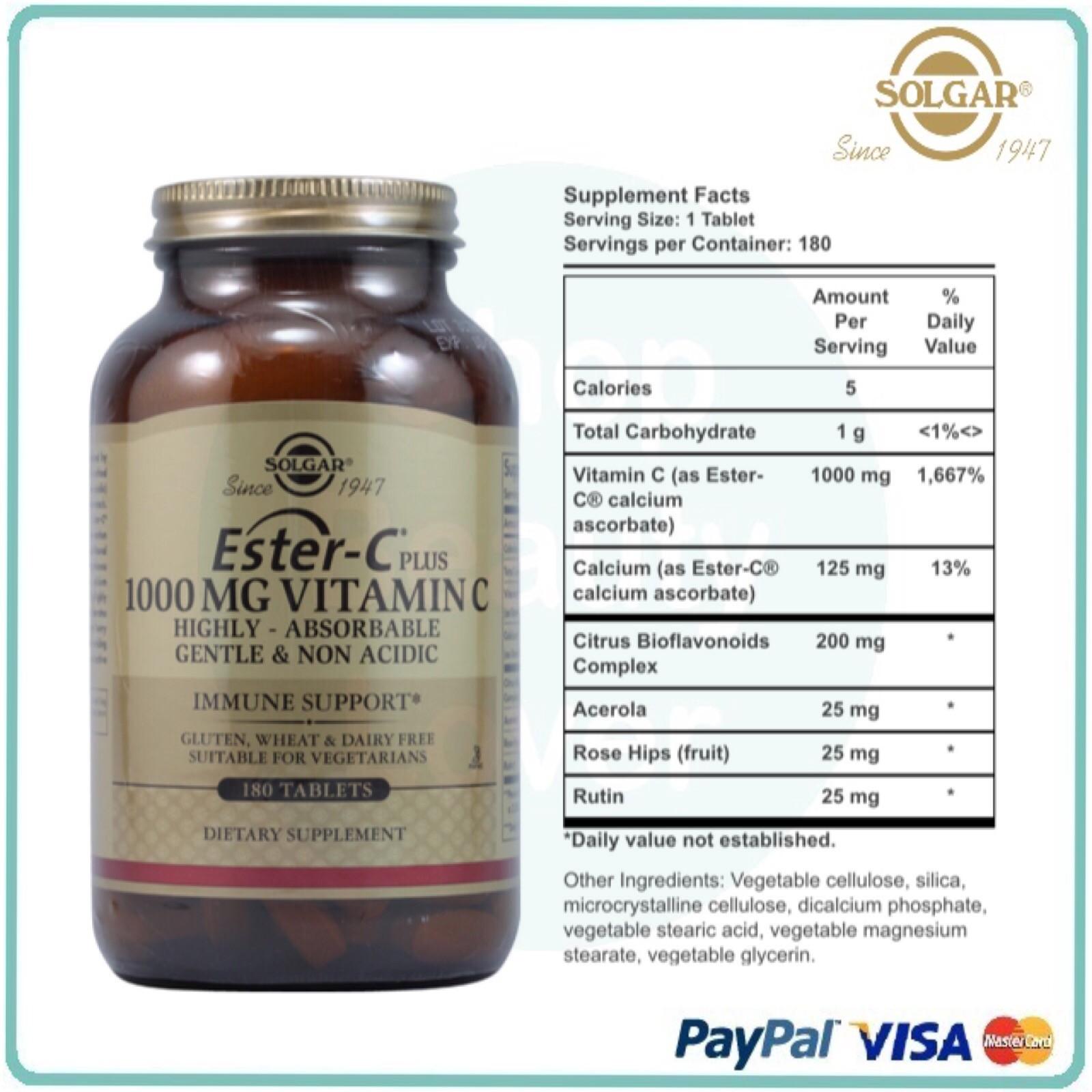 Solgar Ester C 174 Vitamin C