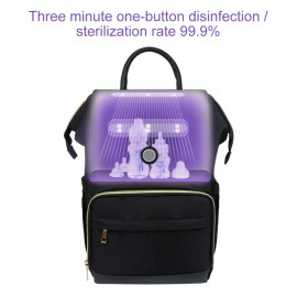 4 YOUNG LED UV Disinfection Diaper Bag