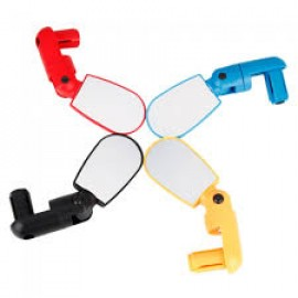 Adjustable Compact Bike Rearview Mirror