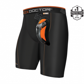 AirCore Soft Cup - Shock Doctor Compression Short