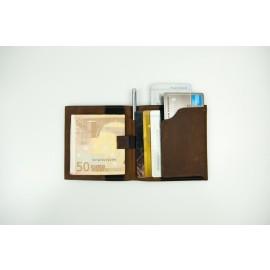 Aki - Minimalist Bifold Slim Wallet