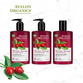 Avalon Organics Wrinkle Therapy CoQ10 Cleansing Milk