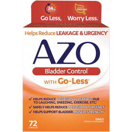 AZO Bladder Control with Go-Less Daily Supplement